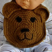 Sweet Baby Bear Drool Bib pattern