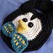Preppy Penguin Baby Drool Bib pattern