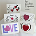 Love Notes greeting cards pattern