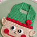 Christmas Elf Baby Bib pattern