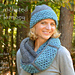 Crocheted Harmony, hat and cowl set pattern