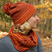 Spiced Cider Set, hat and cowl pattern