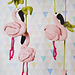Flamingo Baby Mobile pattern