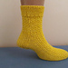 Sherbet Lemon Socks pattern