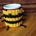 Bees and Honey - Mug Hugger pattern