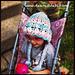 3D Flower Bonnet Toddler/Child pattern