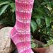 Bleeding Hearts Socks pattern