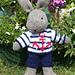 sailor bill bunny rabbit pattern