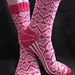 Heart and Sole Valentine's Socks pattern