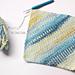 C2C Moss Stitch Washcloth pattern