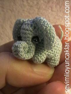 micro crochet baby elephant | Handmade Tutorial | 320x240