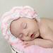 Ruffle Baby Bonnet pattern