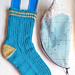 Back To School Socks pattern