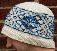 malabrigo and merino hat