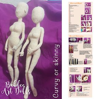 Wannabe realistic amigurumi crochet doll version 1 by nendogurumi ... | 320x320