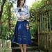 Cotton skirt pattern