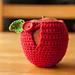 Apple cozy pattern