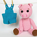 Pigy the Pig pattern