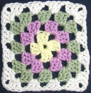 Multi-colored Granny Squares