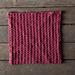 Slipped Stripes Dishcloth pattern