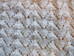 Mary Thomas - Horseshoe Imprint Lace