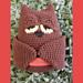 Sleeping owl // Hibou endormi pattern