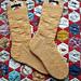 Patchwork Weasley Socks pattern