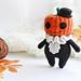 Cute Pumpkin Doll pattern