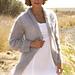 0-763 Jacket with shawl collar pattern