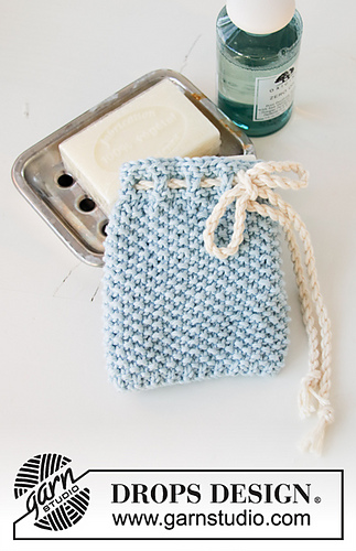 Ravelry: 198-34 Soap Saver pattern by DROPS design