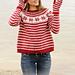 205-22 Candy Cane Lane Sweater pattern