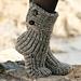 134-42 Moon Socks pattern