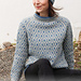216-28 a Fjord Mosaic Sweater pattern