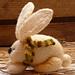 Bunny in Shawl pattern