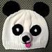 Panda Hat (newborn to child sizes) pattern
