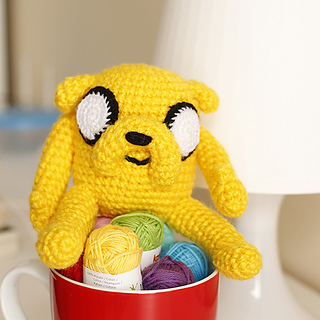 Ravelry: Amigurumi Finn The Human And Jake The Dog pattern by ... | 320x320
