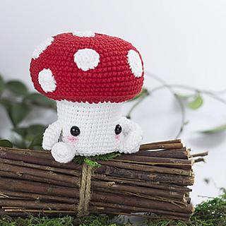 Amigurumi Mushroom Toy Crochet Stuffed Doll Handmade Stuffed | Etsy | 320x320