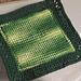 Basic Afghan Stitch Dish Cloth pattern