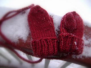 Extra-Toasty Toddler Mittens
