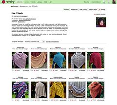 Ravelry Classic Designer Portfolio