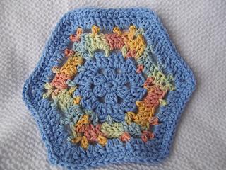 Hexagon Dishcloth