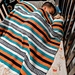 Santiago Serape (Mexican blanket) pattern
