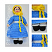 Jane Victorian Doll 1836 pattern
