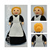 Violet 1920s A Lady's Maid Doll pattern