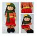 Aster Autumn Rag Doll pattern