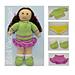 Jemima January Rag Doll pattern