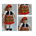Bruce Tartan Scottish Doll pattern
