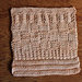 Learn to Knit Sampler Dishcloth pattern