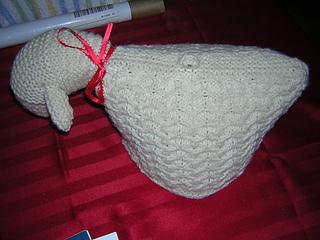 Sheila the Sheep tea cozy