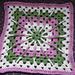 Double Treble Burst Square pattern
